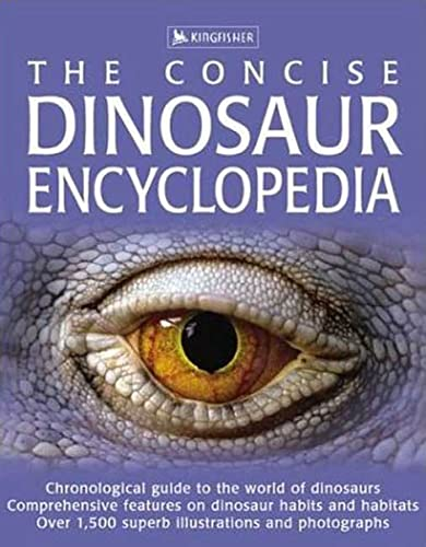 The Concise Dinosaur Encyclopedia By David Burnie