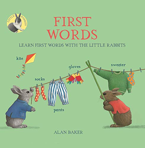 Little Rabbits' First Words By Alan Baker