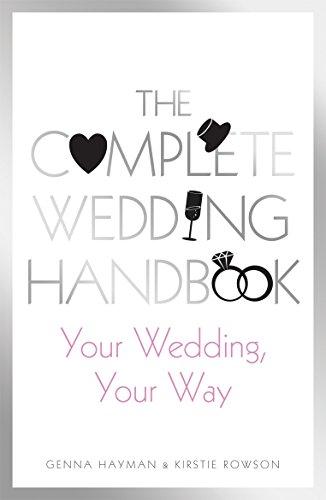 The Complete Wedding Handbook By Genna Hayman