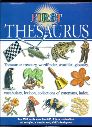 First Thesaurus By Various Used Very Good 0753701197