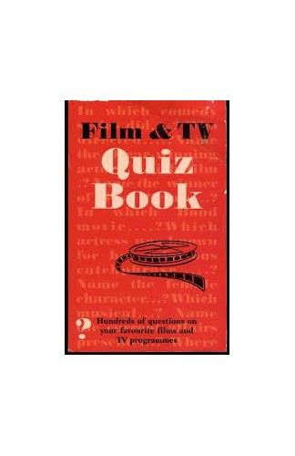Film and TV Quiz Book By Angela Griffiths