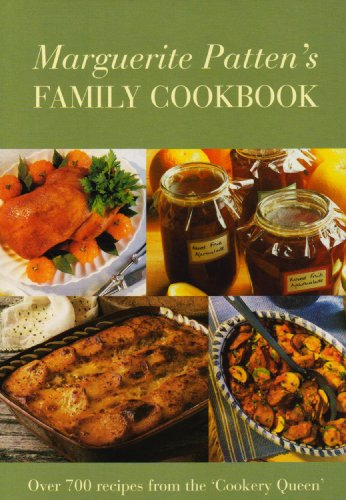 Marg Pattens Family Cookbook By Marguerite Patten