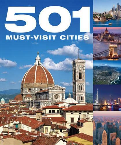501 Must Visit Cities by D. Brown