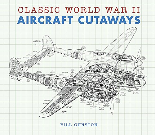 Classic World War II Aircraft Cutaways by Bill Gunston