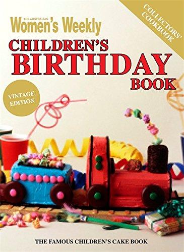 Children's Birthday Cake Book (Vintage Edition)