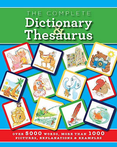 The Complete Dictionary and Thesaurus By Martin Manser