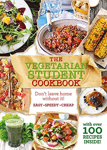 The Vegetarian Student Cookbook by Unknown Author