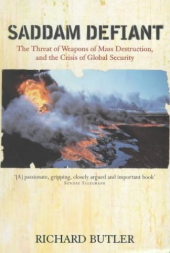 Saddam Defiant By Richard Butler