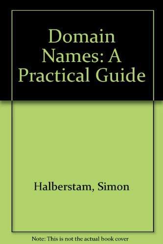 Domain Names By Simon Halberstam