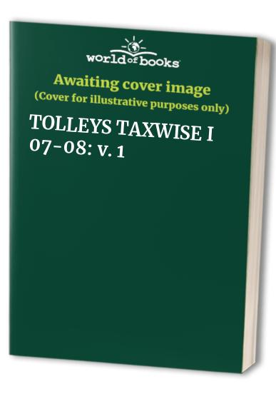 Tolley's Taxwise By Gordon/Gravestock