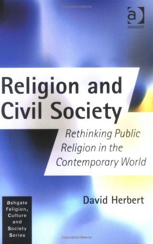 Religion and Civil Society By David Herbert