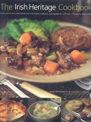 Irish Heritage Cookbook By Biddy & Campbell, Georgina White-Lennon