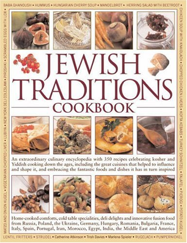 The Jewish Traditions Cookbook By Catherine Atkinson