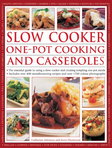 Slow and One Pot Cooking and Casseroles by Jenni Fleetwood