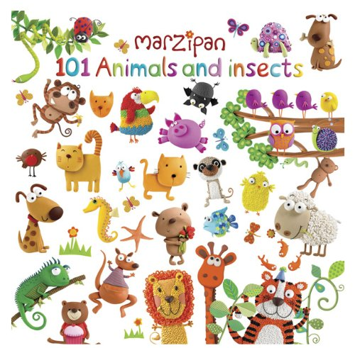 Robert Frederick Marzipan 101 Animals and Insects Padded Word Book, Plastic, Assorted