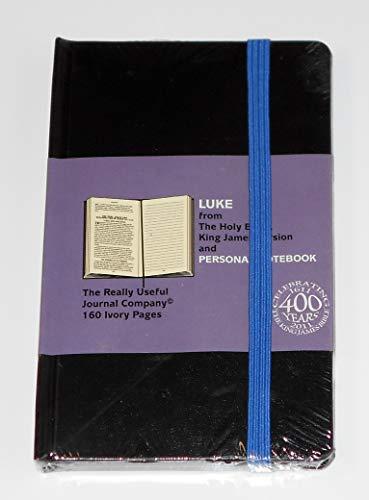 KJV Gospel of Luke with Personal Notebook