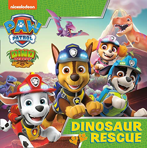 Paw Patrol Picture Book - Dinosaur Rescue By Paw Patrol