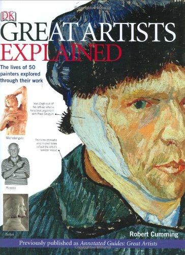 Great Artists Explained von Robert Cumming