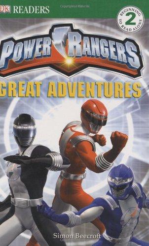 Power Rangers: Great Adventures By Simon Beecroft