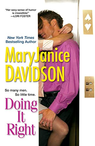 Doing It Right By MaryJanice Davidson