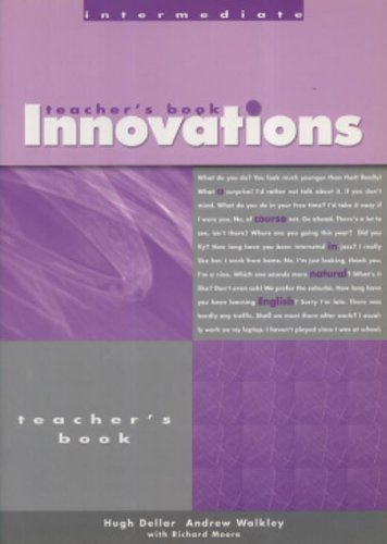 Innovations Intermediate By Hugh Dellar