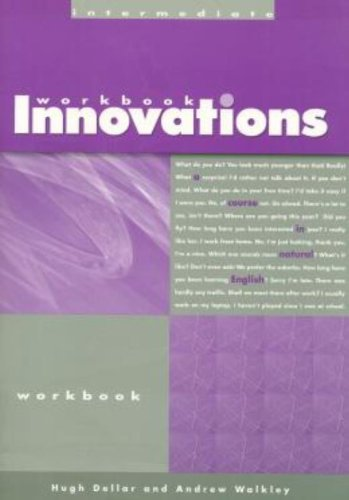Innovations Intermediate: Workbook by Hugh Dellar