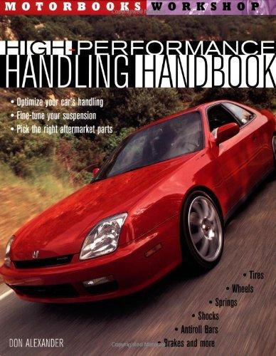 High Performance Handling Handbook By Don Alexander