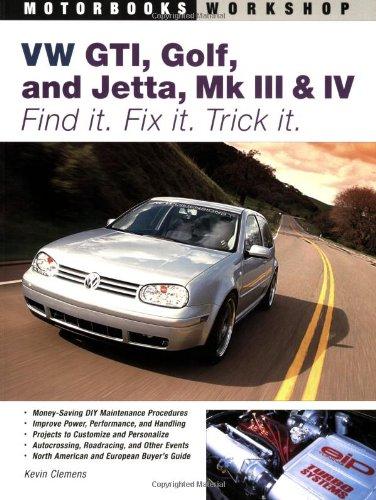 Vw Gti, Golf, Jetta, Mk III & Iv By Kevin Clemens