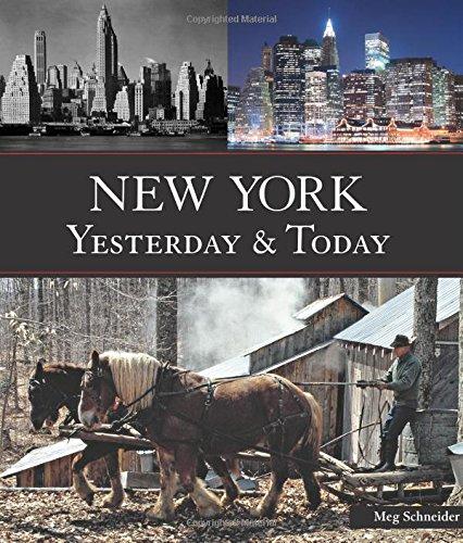 New York Yesterday & Today By Meg Schneider