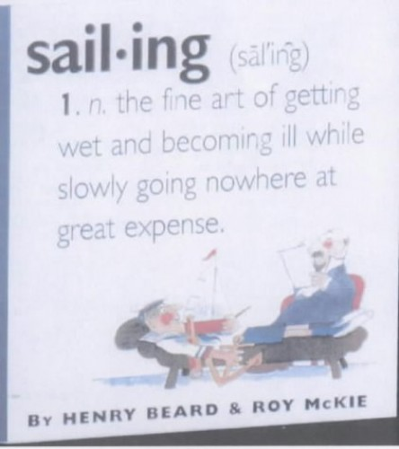 Sailing by Henry Beard