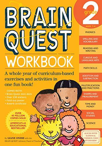 Brain Quest Workbook: Grade 2 von Liane Onish