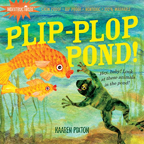 Indestructibles: Plip-Plop Pond! Created by Amy Pixton