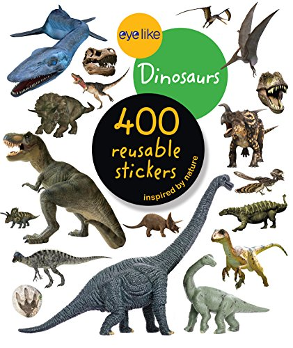 Playbac Sticker Book: Dinosaurs By Eyelike