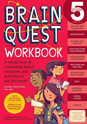 Brain Quest Workbook Grade 5 von Bridget Heos