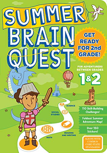 Summer Brain Quest Get Ready for 2nd Grade By Workman Publishing