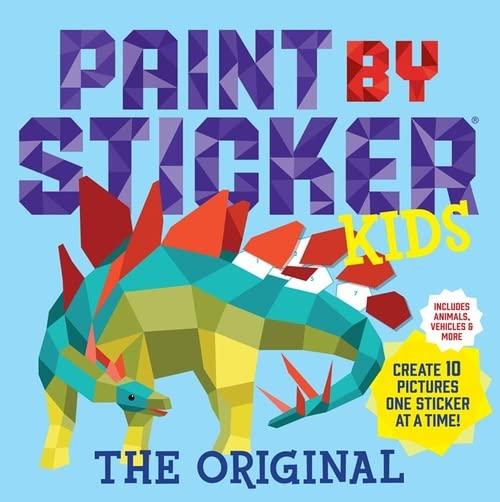 Paint by Sticker Kids, The Original von Workman Publishing