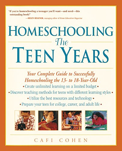 Homeschooling By Cafi Cohen