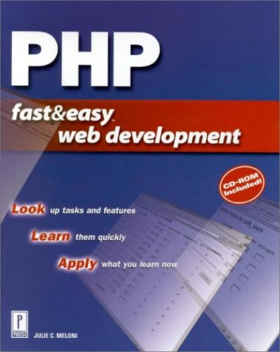 PHP Fast and Easy Web Development By M. Meloni