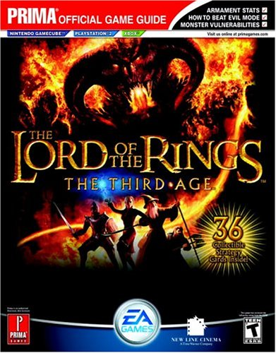 """The """"Lord of the Rings"""": Third Age - Official Strategy Guide (Prima Official Game Guides) by Prima Temp Authors"""