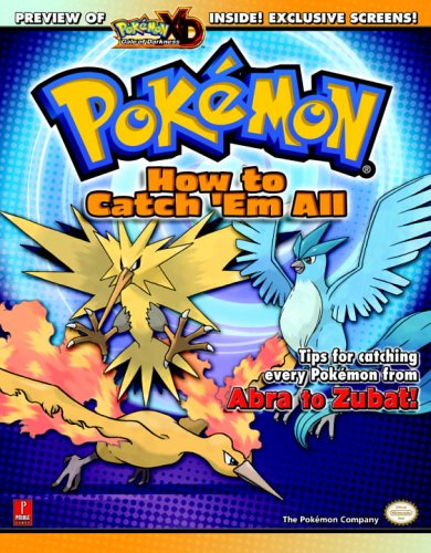 How to Catch 'em All: Prima's Official Pokemon Guide (Prima Official Game Guides) By Levi Buchanan