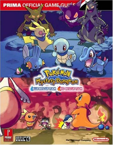 Pokemon Mysterious Dungeon By Prima Games