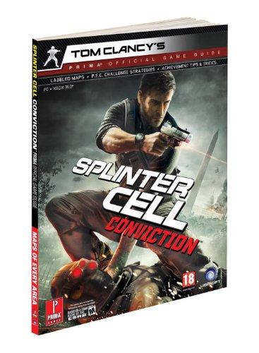 Splinter Cell Conviction: Prima's Official Game Guide (Prima Official Game Guides) By Prima Development