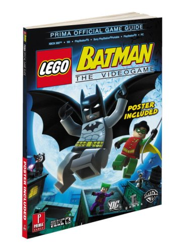 Lego Batman: Prima's Official Game Guide By Michael Littlefield