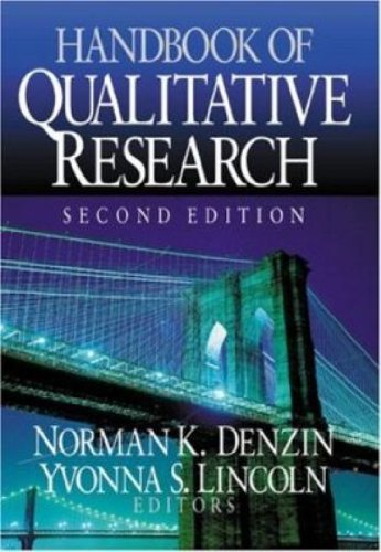 Handbook of Qualitative Research By Edited by Norman K. Denzin