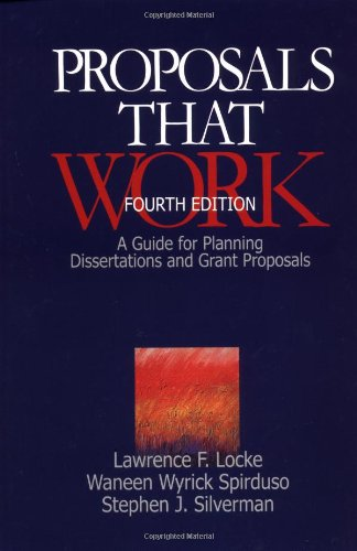 Proposals That Work By Lawrence F. Locke