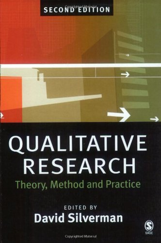 Qualitative Research By Edited By David Silverman Used