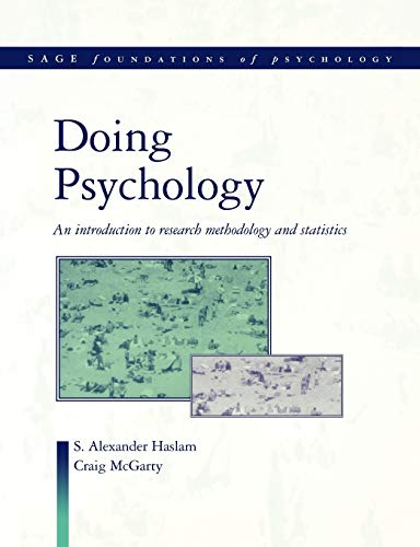 Doing Psychology By S. Alexander Haslam