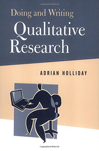 Doing and Writing Qualitative Research By Adrian Holliday