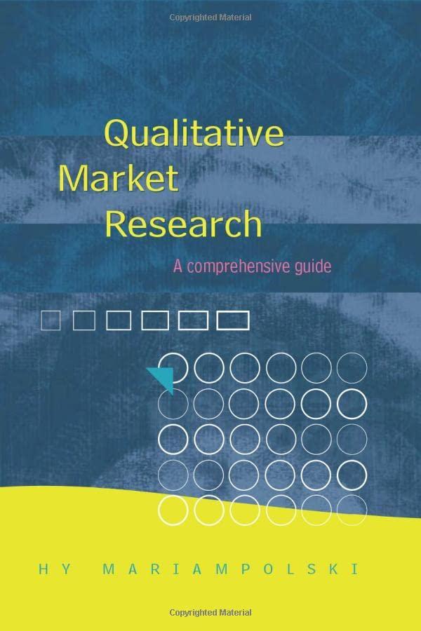 Qualitative Market Research By Hy Mariampolski