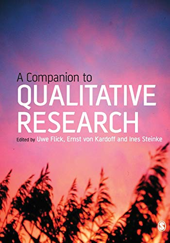 A Companion to Qualitative Research By Edited by Uwe Flick